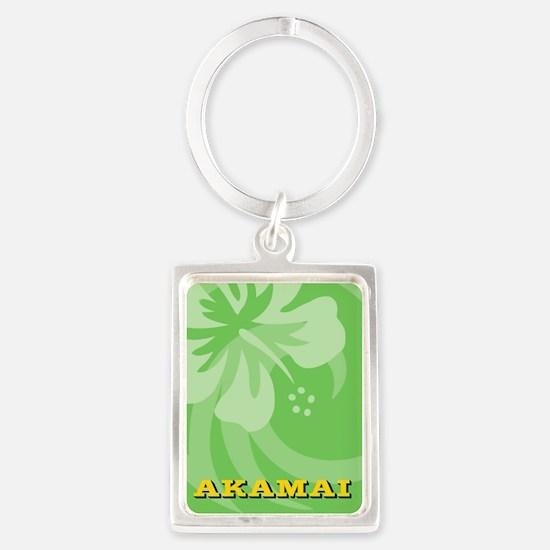 Akamai Portrait Keychain