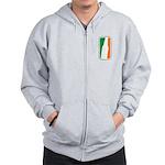 Bottle Logo Irish Zip Hoodie