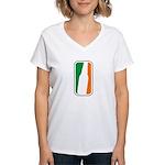 Bottle Logo Irish Women's V-Neck T-Shirt