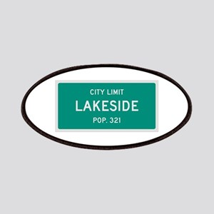 Lakeside, Texas City Limits Patches