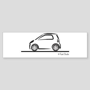 Smart Fortwo side Sticker (Bumper)