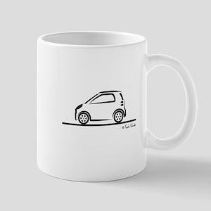 Smart Fortwo side Mug
