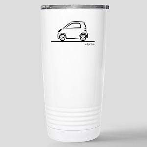 Smart Fortwo side Stainless Steel Travel Mug