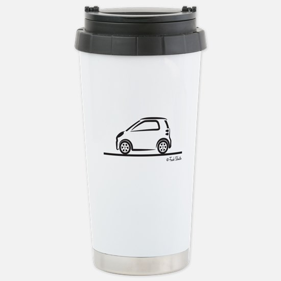 Smart Fortwo side Stainless Steel Travel Mug
