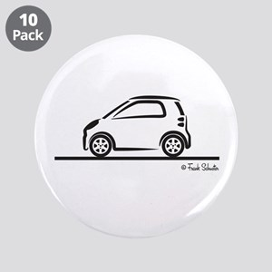 """Smart Fortwo side 3.5"""" Button (10 pack)"""