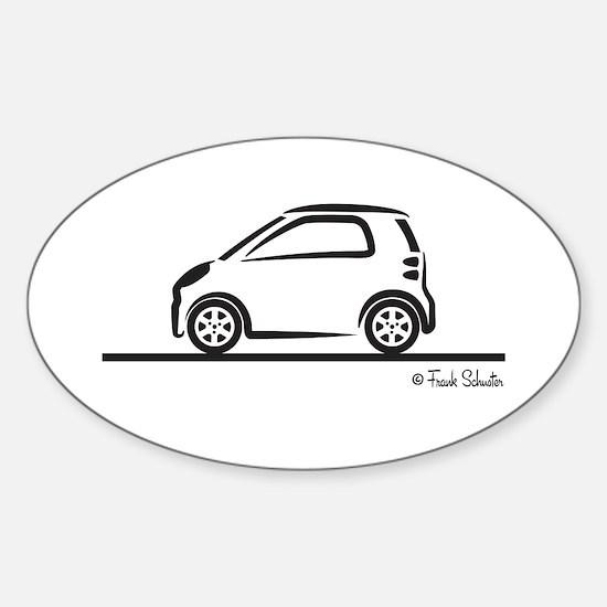 Smart Fortwo side Sticker (Oval)