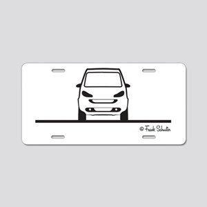 Smart Fortwo Front Aluminum License Plate