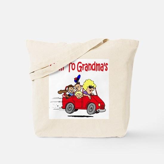 Goin' To Grandma's Tote Bag
