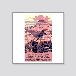 1930s Vintage Grand Canyon National Park Sticker