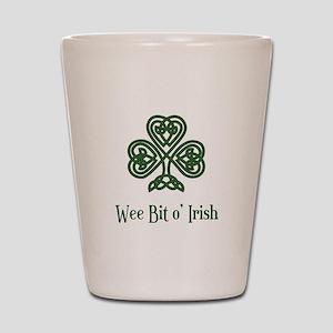 Wee Bit o Irish Shot Glass