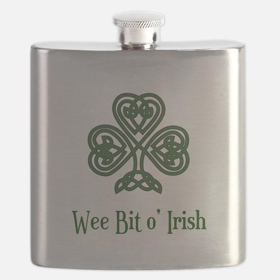 Wee Bit o Irish Flask