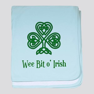 Wee Bit o Irish baby blanket