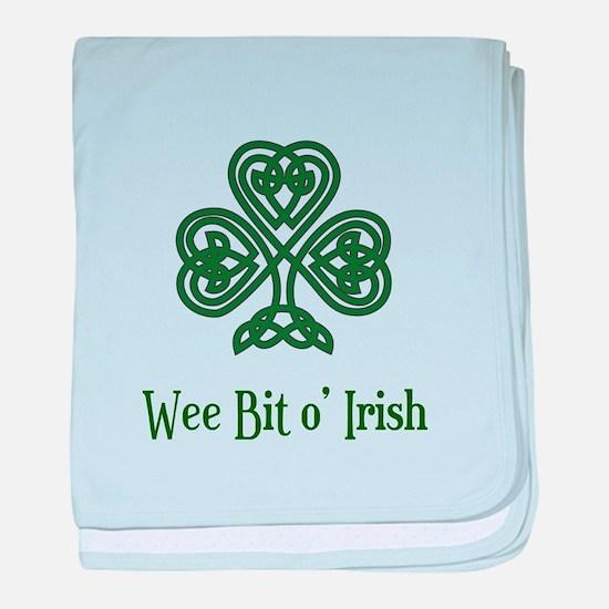 Wee Bit o Irish baby blanket