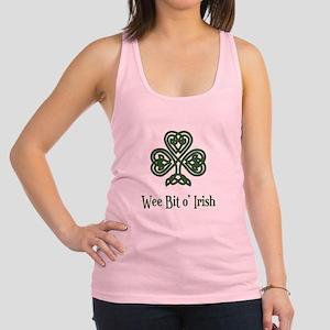 Wee Bit o Irish Racerback Tank Top