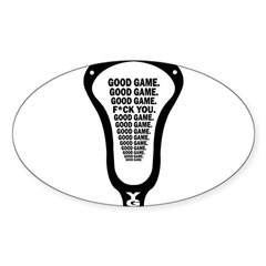 Lacrosse_GoodGame_blk Decal