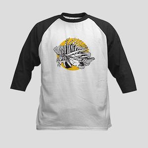 Lionfish Kids Baseball Jersey