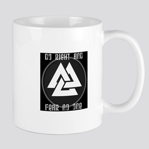 ASATRU VOLKNOT DO RIGHT  ODINIST SYMBOL Mugs