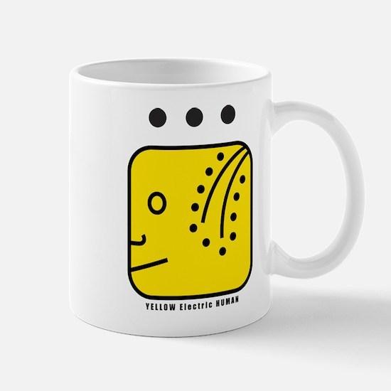 YELLOW Electric HUMAN Mug