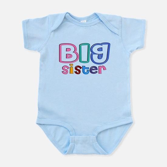 34 Effect Big Sister Design Infant Bodysuit