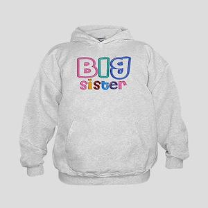 34 Effect Big Sister Design Kids Hoodie