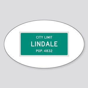 Lindale, Texas City Limits Sticker