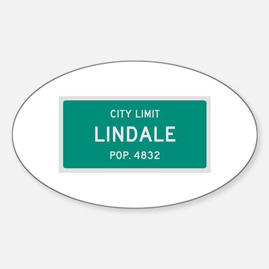 Lindale, Texas City Limits Decal