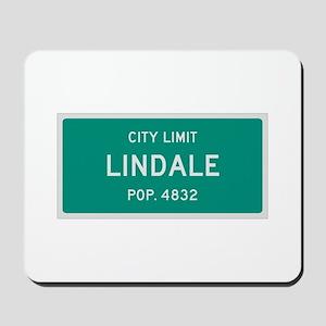 Lindale, Texas City Limits Mousepad