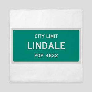 Lindale, Texas City Limits Queen Duvet