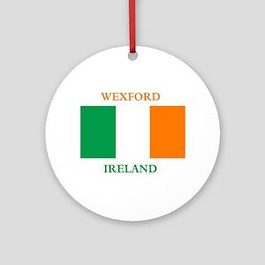 Wexford Ireland Ornament (Round)