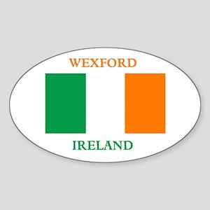 Wexford Ireland Sticker (Oval)