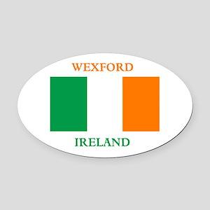 Wexford Ireland Oval Car Magnet