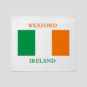 Wexford Ireland Throw Blanket