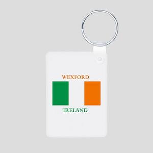 Wexford Ireland Aluminum Photo Keychain