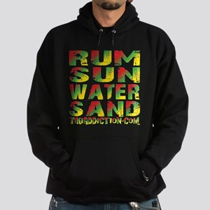 TIKI - RUM SUN WATER SAND - RASTA Hoodie