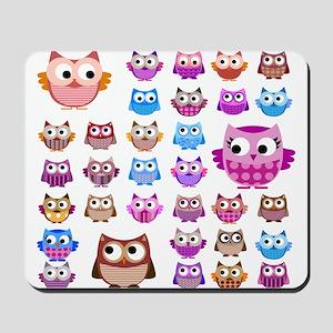 Owls! Mousepad