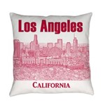 Los Angeles Everyday Pillow