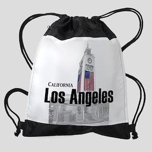 Los Angeles Drawstring Bag