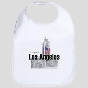 Los Angeles Cotton Baby Bib