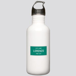 Lorenzo, Texas City Limits Water Bottle