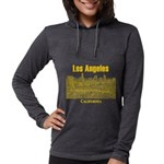Los Angeles Womens Hooded Shirt