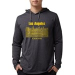 Los Angeles Mens Hooded Shirt
