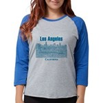Los Angeles Womens Baseball Tee