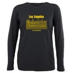 Los Angeles Plus Size Long Sleeve Tee