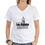 Los Angeles Women's V-Neck T-Shirt
