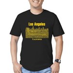 Los Angeles Men's Fitted T-Shirt (dark)