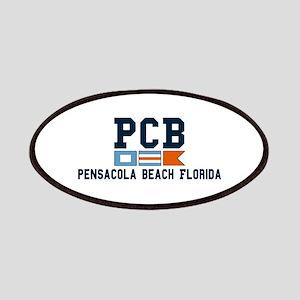 Pensacola Beach - Nautical Design. Patches
