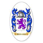 Balderston Sticker (Oval 50 pk)