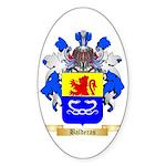 Balderas Sticker (Oval)