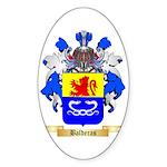 Balderas Sticker (Oval 50 pk)