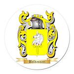 Baldassari Round Car Magnet